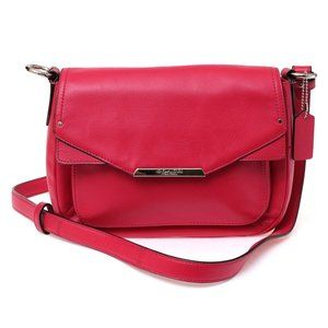 New Coach XBody TAYLOR MINI FLAP F31844 Berry Red